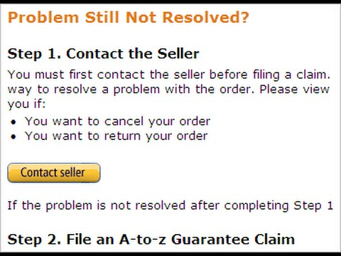 Why does a customer file an Amazon A-to-Z claim