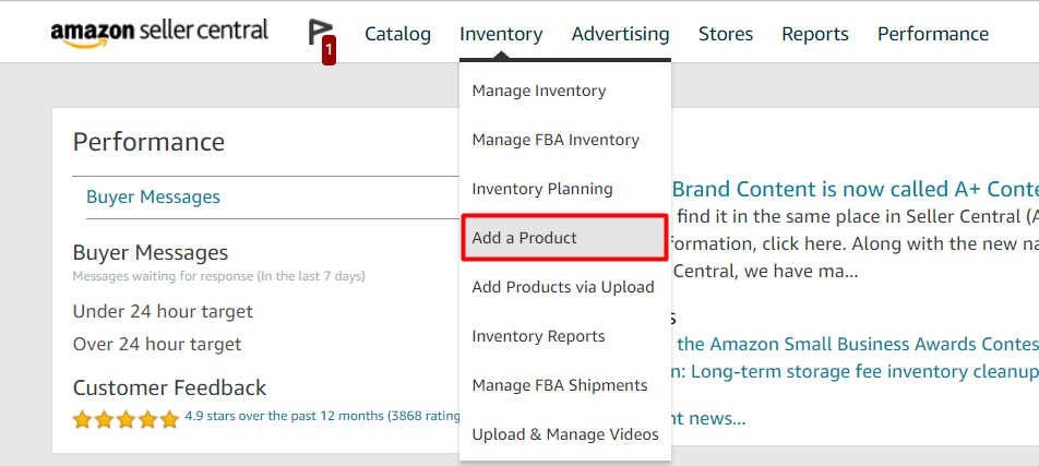 How to list products on Amazon Seller Central?