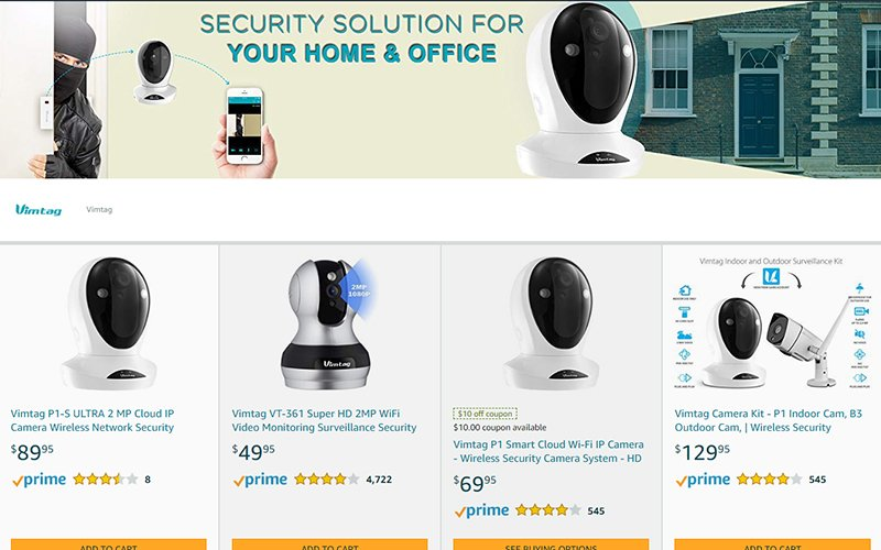Amazon StoreFront Design Portfolio 4