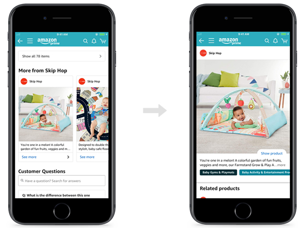 Posts is a new browse and discovery experience on Amazon focused on brand-shopping. Posts help shoppers discover new products and see what's new from brands by browsing feeds of brand-curated content.