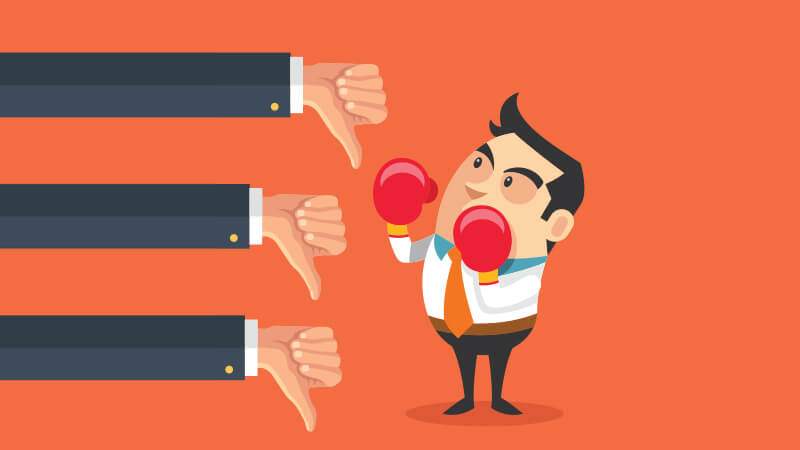 Quick guide to deal with negative reviews