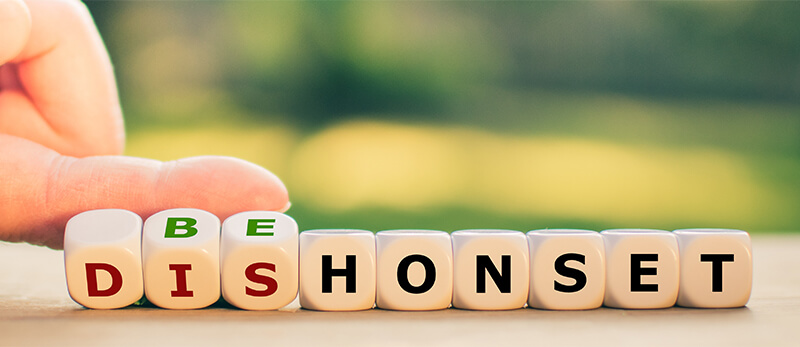 Be honest with your customers:
