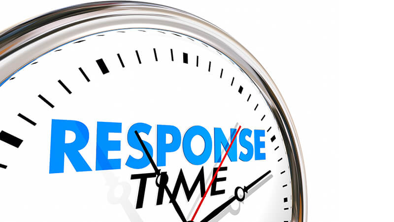 Stay alert and be prompt