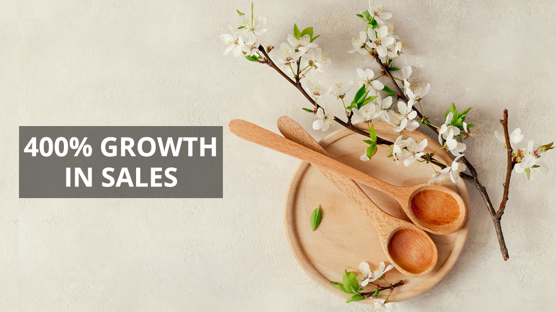 Amazon case study for sellers. Amazon SEO and PPC consultants to increase Amazon sales
