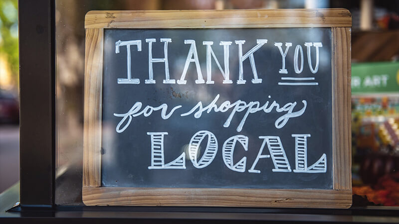 Try Building A Local Community