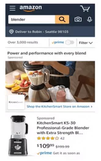 Amazon Sponsored Brands custom image