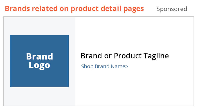 Sponsored Brands is now available on product detail pages