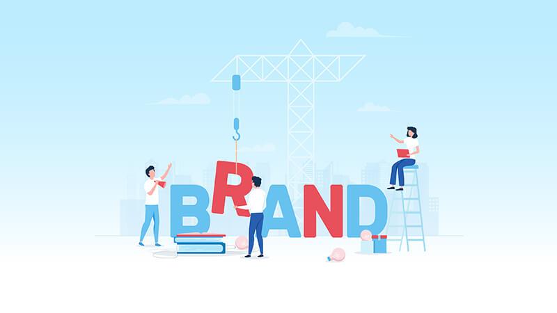 """You can actually """"build a brand"""""""