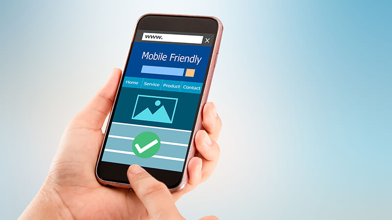 Reinforce a mobile-first approach