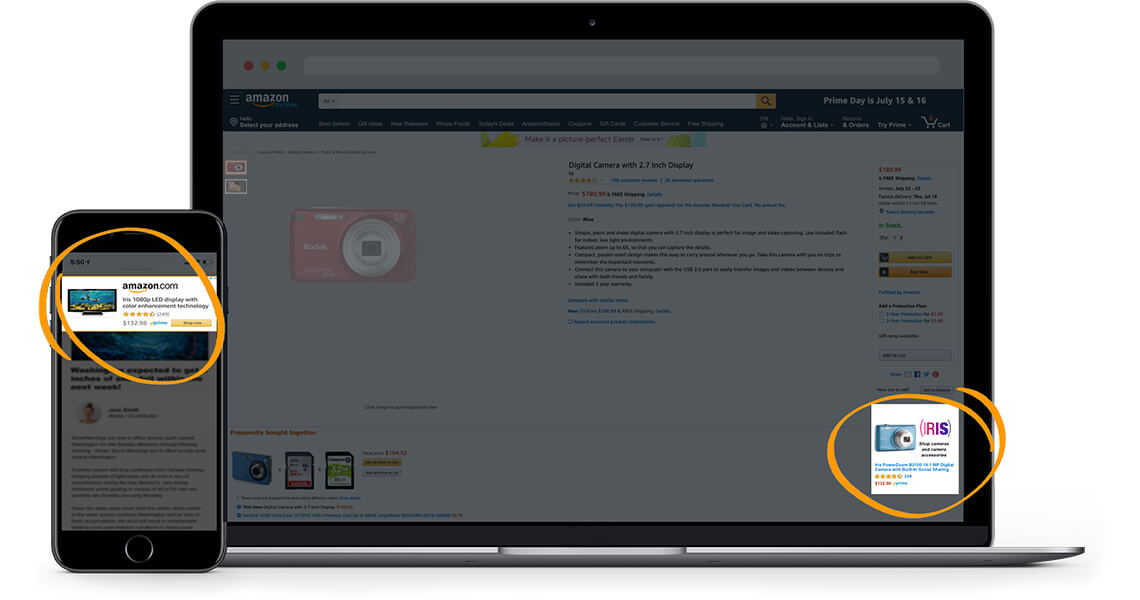 Amazon Launches Sponsored Display Ads Globally