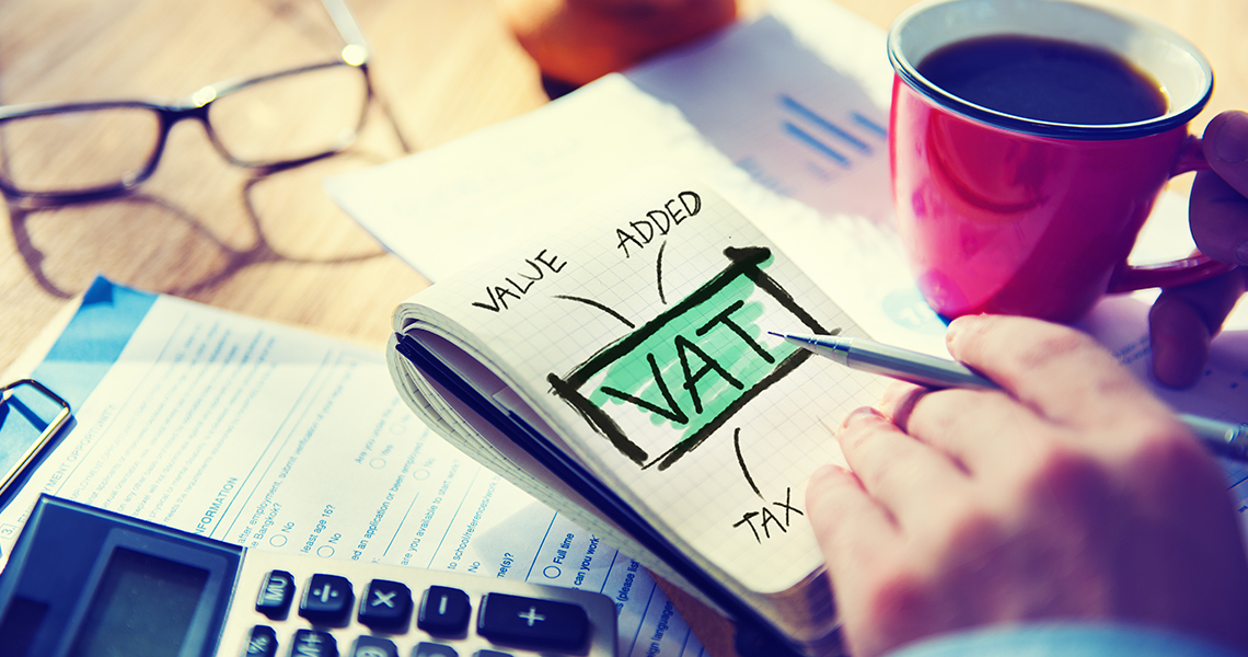 Extra costs for Value Added Tax (VAT)