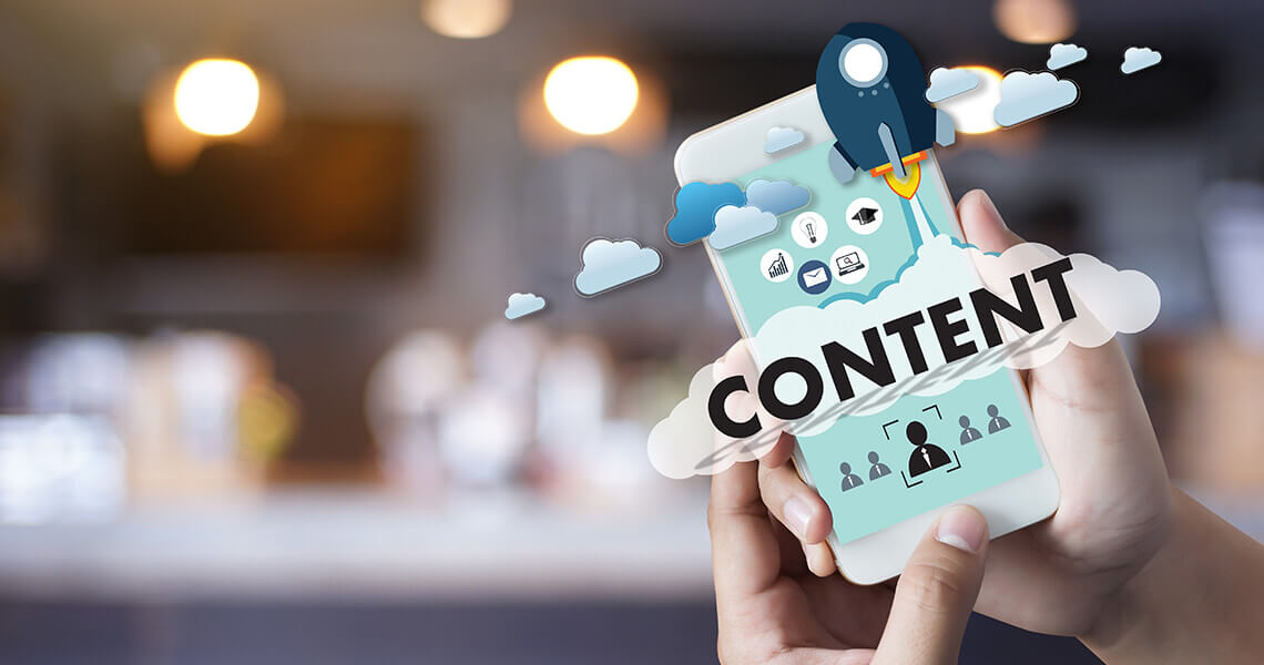 Your website has little or no content