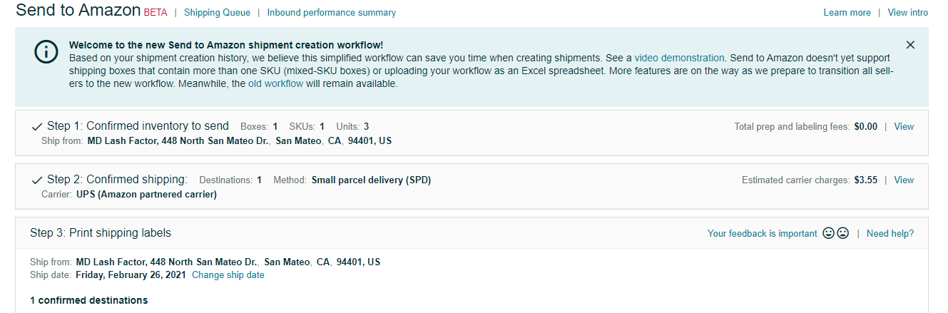 Create Shipments faster with