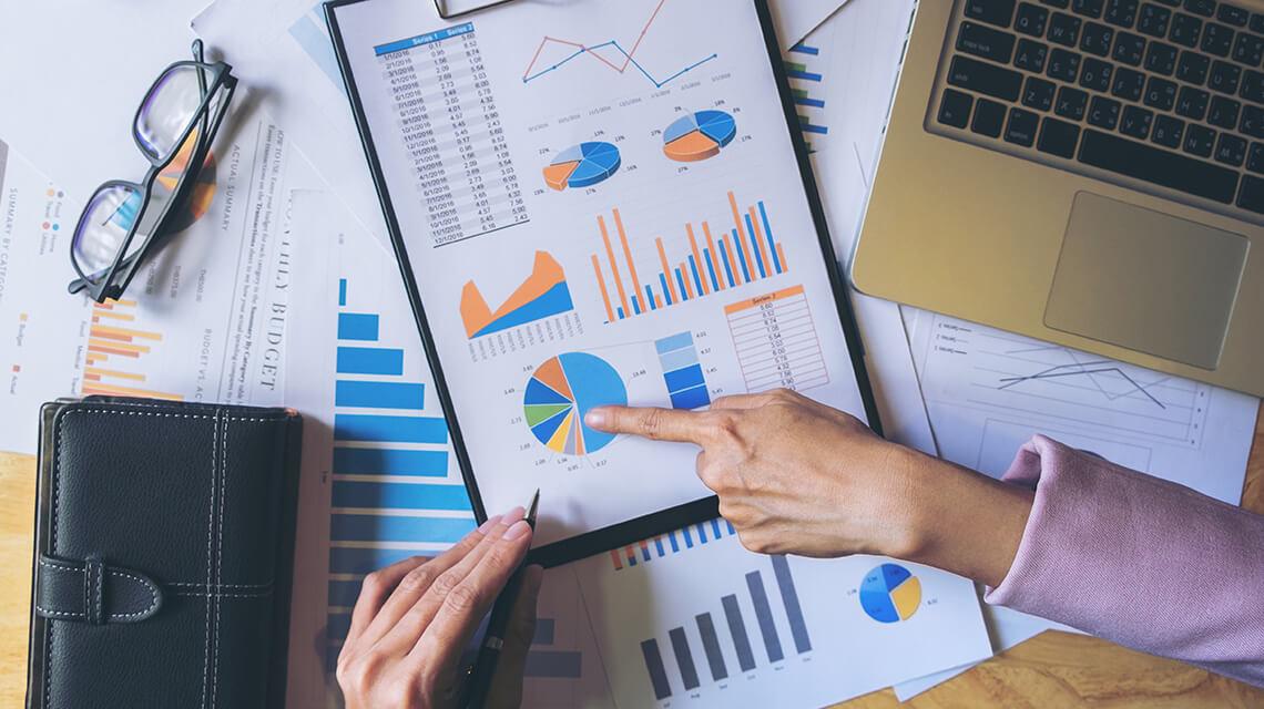 Analyze past year's data