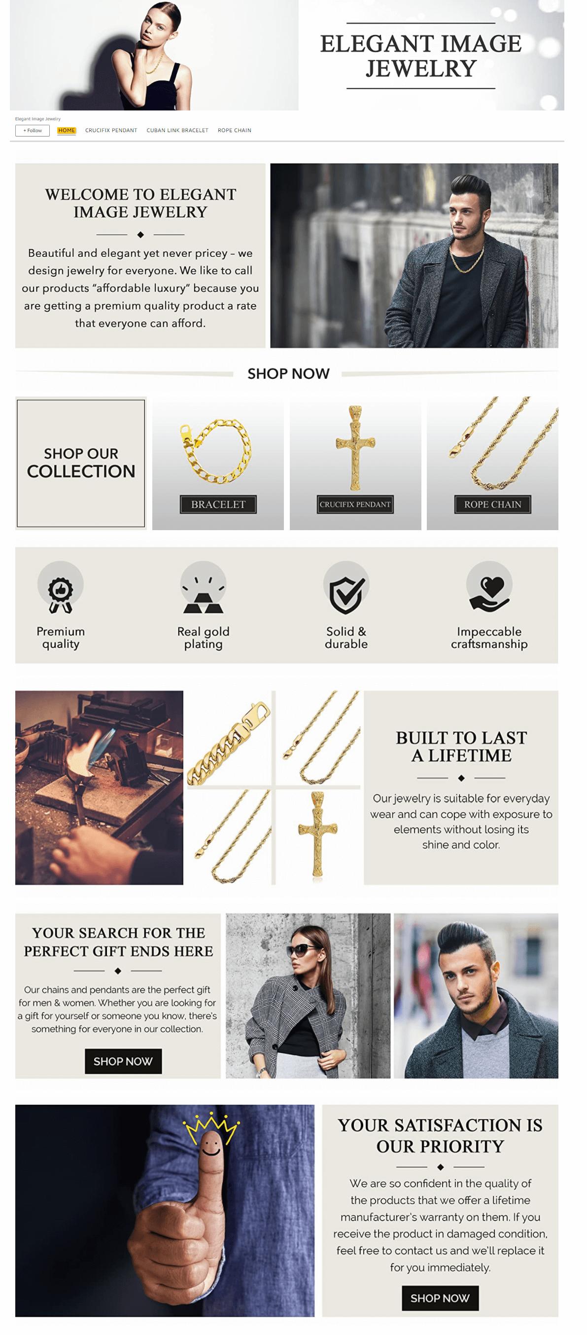 Elegant Image Jewelry Amazon Storefront